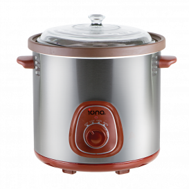 IONA 8.5L Auto Slow Cooker with Double Boiler
