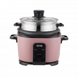 IONA 1L Rice Cooker with Steamer
