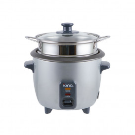 IONA 0.6L Rice Cooker & Warmer with Steamer
