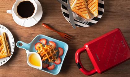 IONA GLSM988 Sandwich and Waffle Maker
