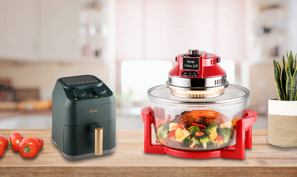 Are air fryers and Halogen Grills (turbo broiler) just the same?