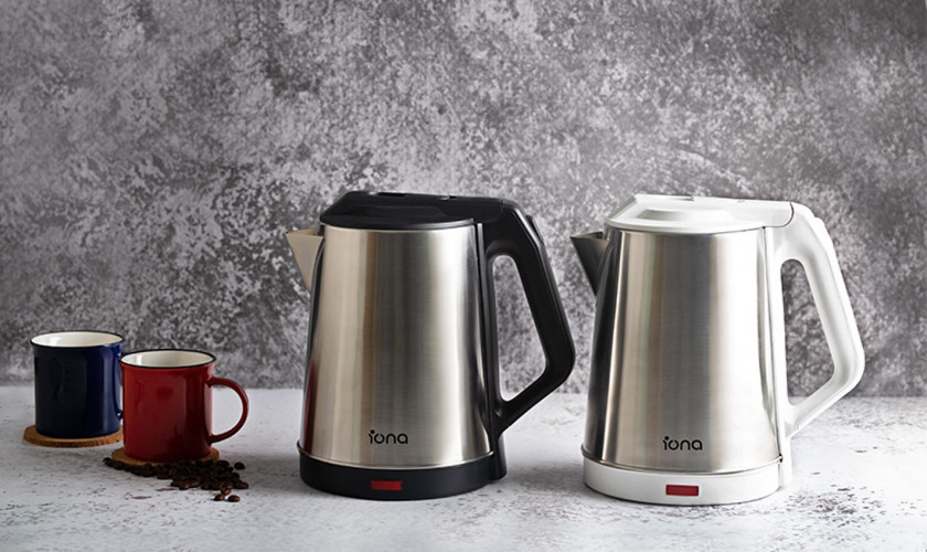 IONA GLK1806 1.8L Stainless Steel Cordless Kettle